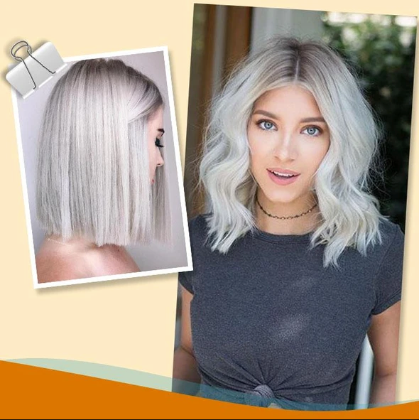 Salon-Grade Silver Hair Dye - Patented Fade-Defying Formula