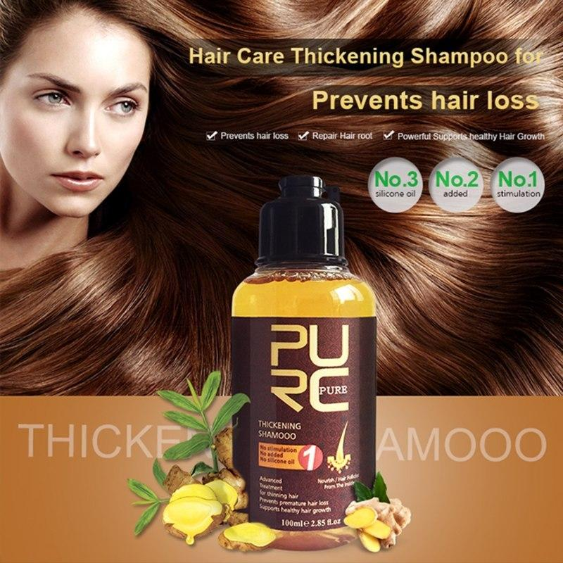 Herbal Ginger Essence Treatment For Hair Loss