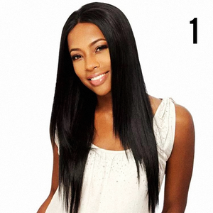style wig, long lace front wig