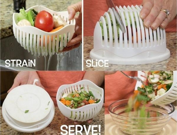 SALAD CUTTER BOWL - 50% OFF