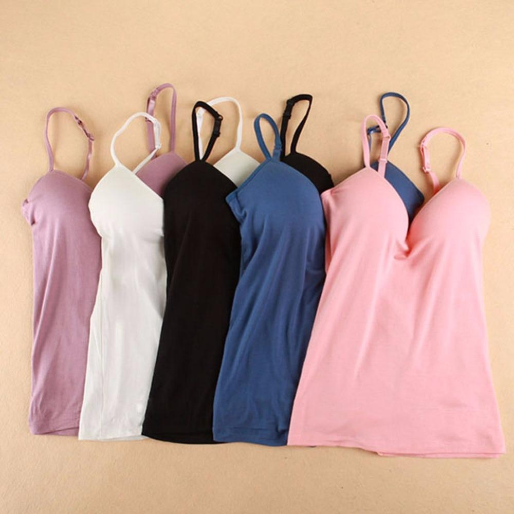 V Neck Push Up Tank Top
