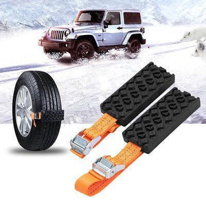 Crosser - Emergency Tire Straps (Set Of 2)