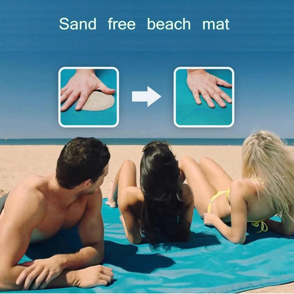 High Tech Sand-Free Beach Blanket