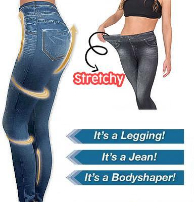 Stretchy Slimming Jeans Leggings - 70%OFF