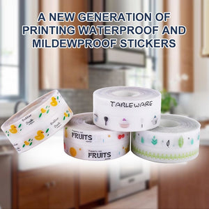 Kitchen Waterproof Mildew Tape, Self Adhesive Tub and Wall Sealing Tape
