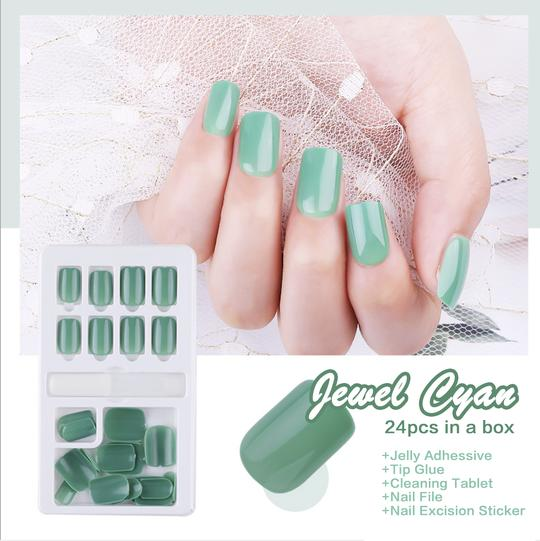Gel Press Nails