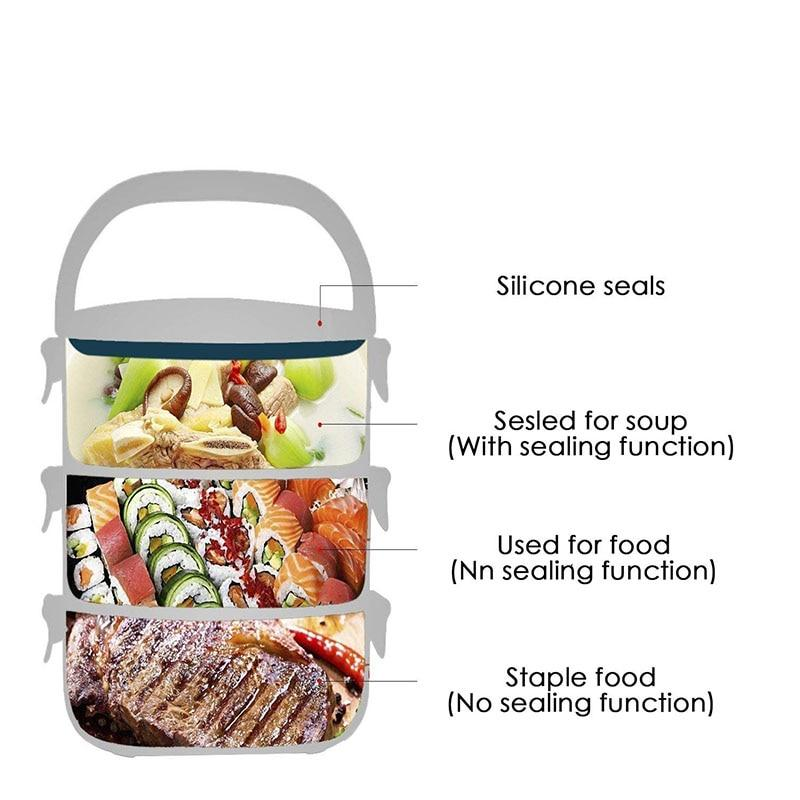 4 Layer Thermal Lunch Box - 70% OFF!