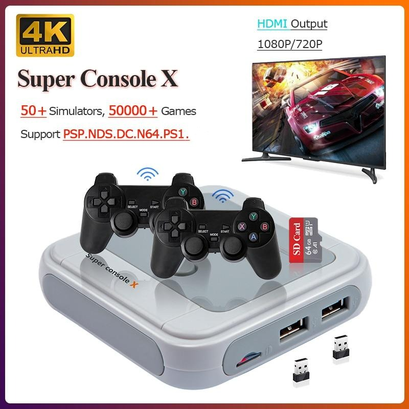 SUPER CONSOLE X -- THE RETRO GAMING CONSOLE