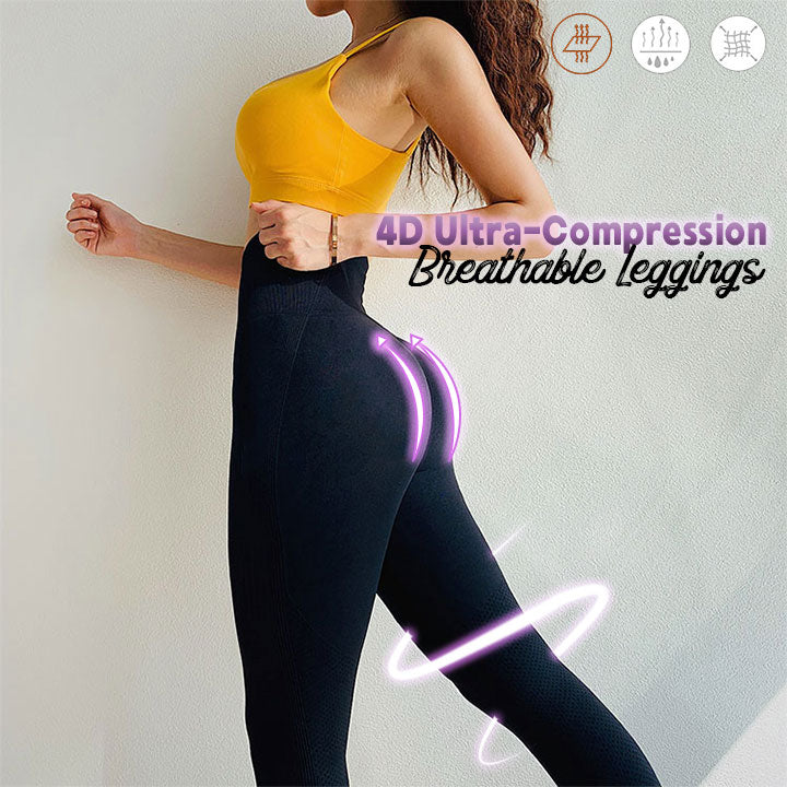 4D Ultra-Compression Breathable Leggings