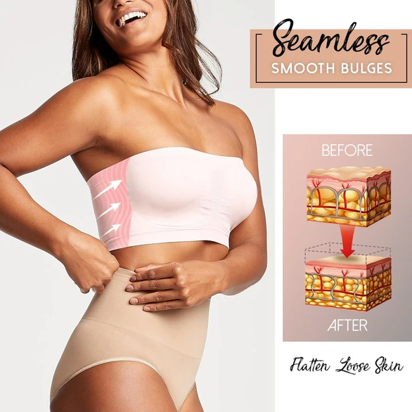 Invisible Seamless Supportive Bandeau Bra
