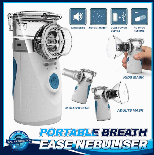 Portable Breath Ease Nebulizer - (While Stock Last)