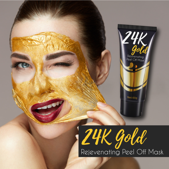 24K Gold Rejuvenating Peel Off Mask