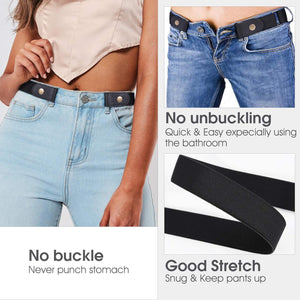 No-Buckle Women's Belt
