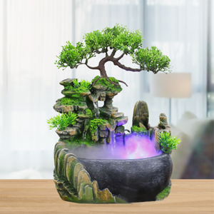 Stylish Desktop Flowing Water Waterfall