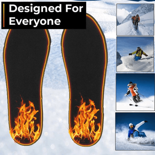 Rechargeable Heated Insoles