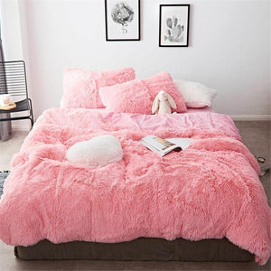 Fluffy Blanket With Pillow