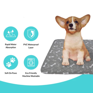 Reusable dog Pee Pad Absorbent And Odor Controlling