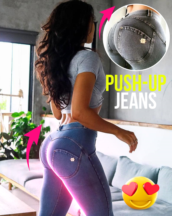 Colombians Push-Up Jeans