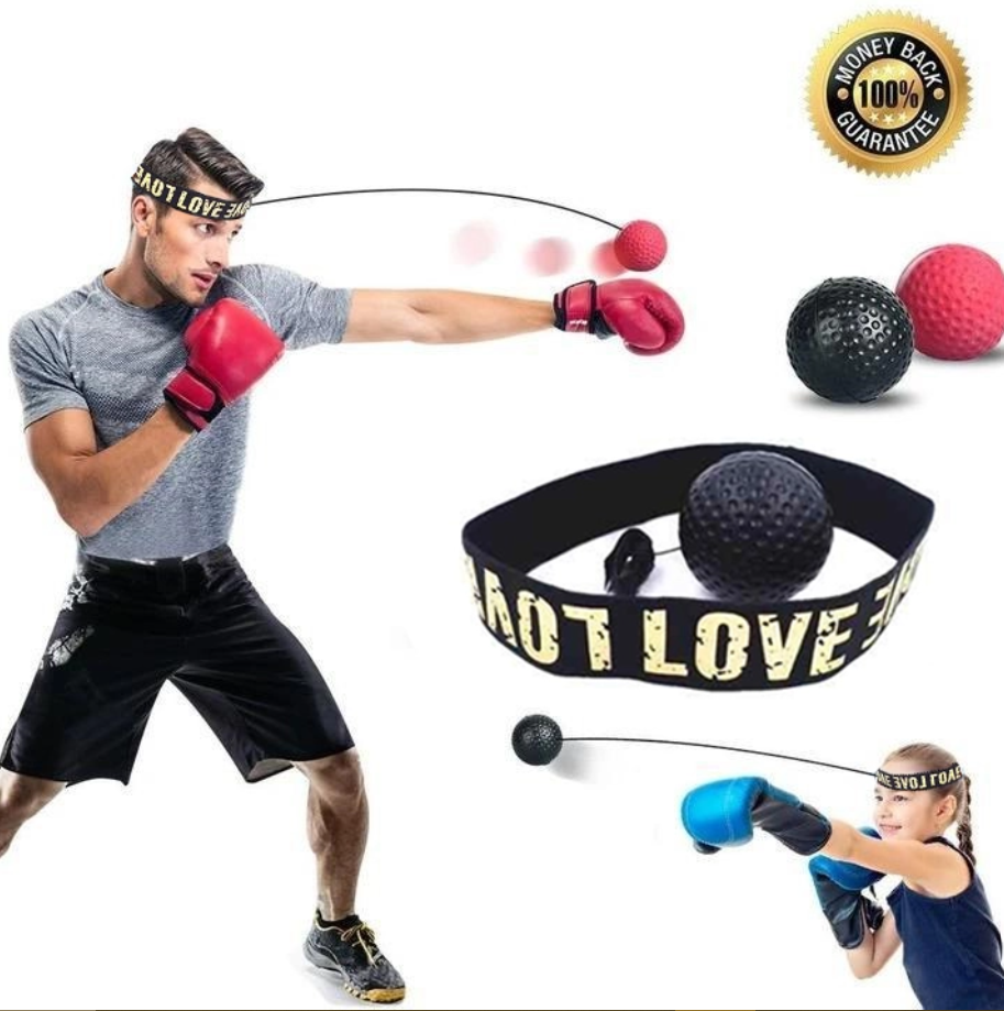 Boxing Training Reflex Ball - headband + ball Fight