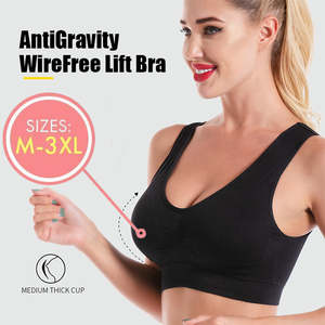 AntiGravity Push up Wireless Lift Bra - 3 Set