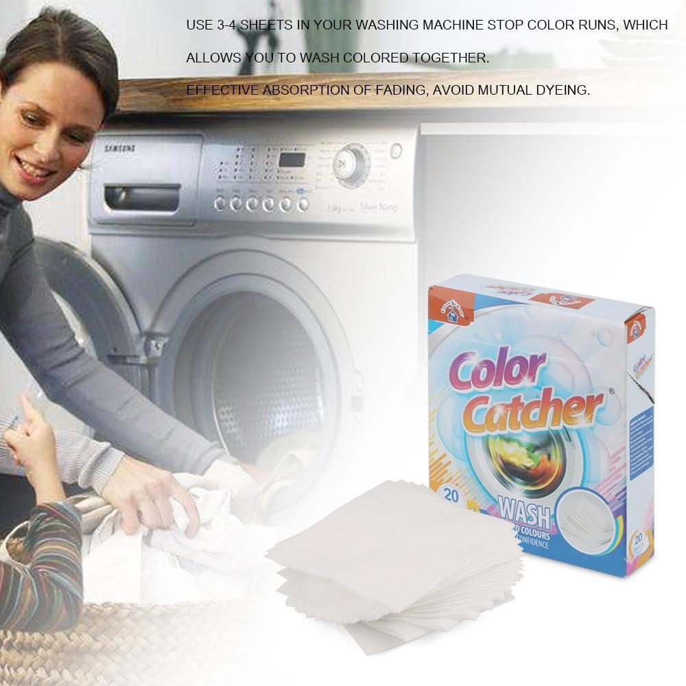 Laundry Dye-Trapping Sheet - 70%OFF!
