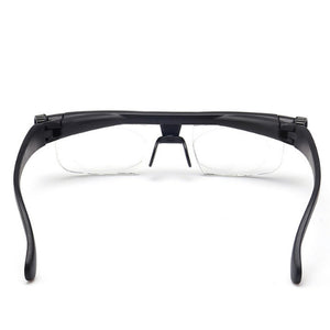 Premium Focus Adjustable Eyeglasses -3 to +6 Diopters Myopia Reading