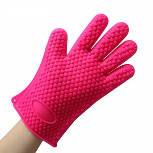 Heat Resistant Silicone Cooking Glove