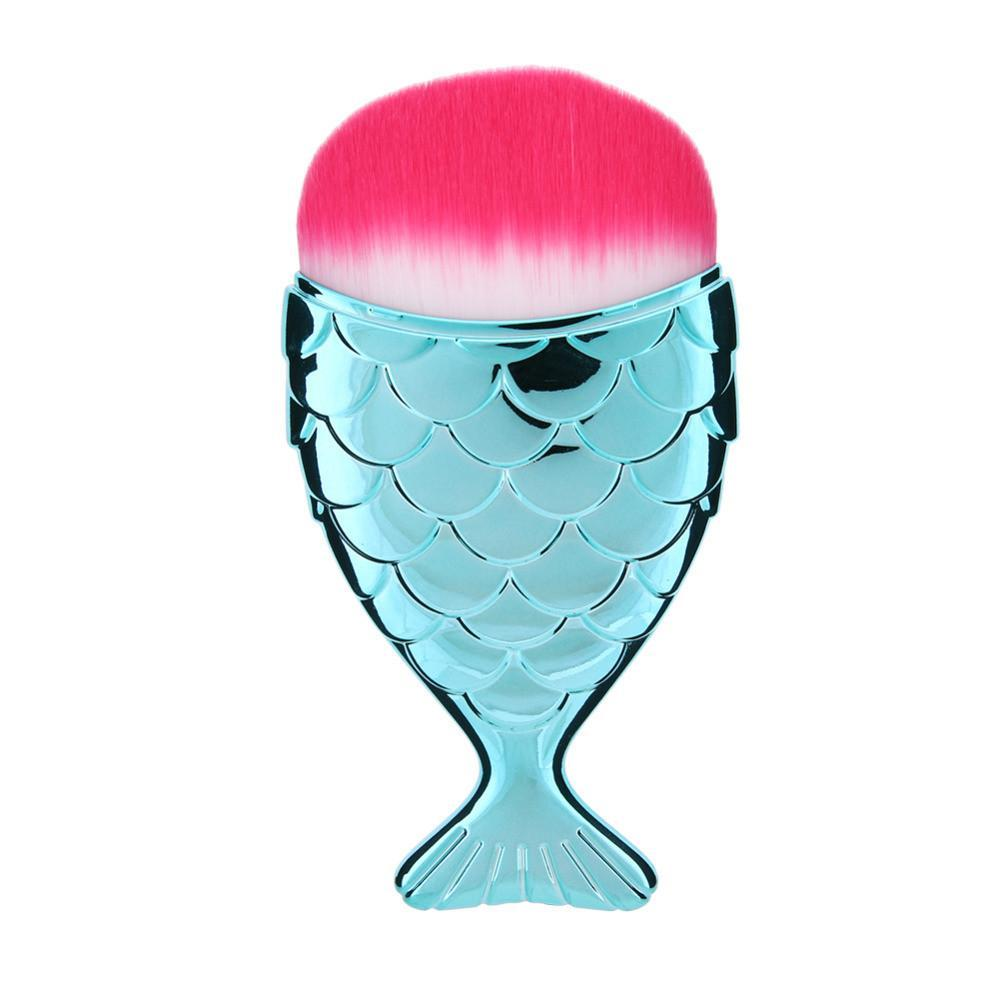 Colorful Mermaid Make Up Brushes