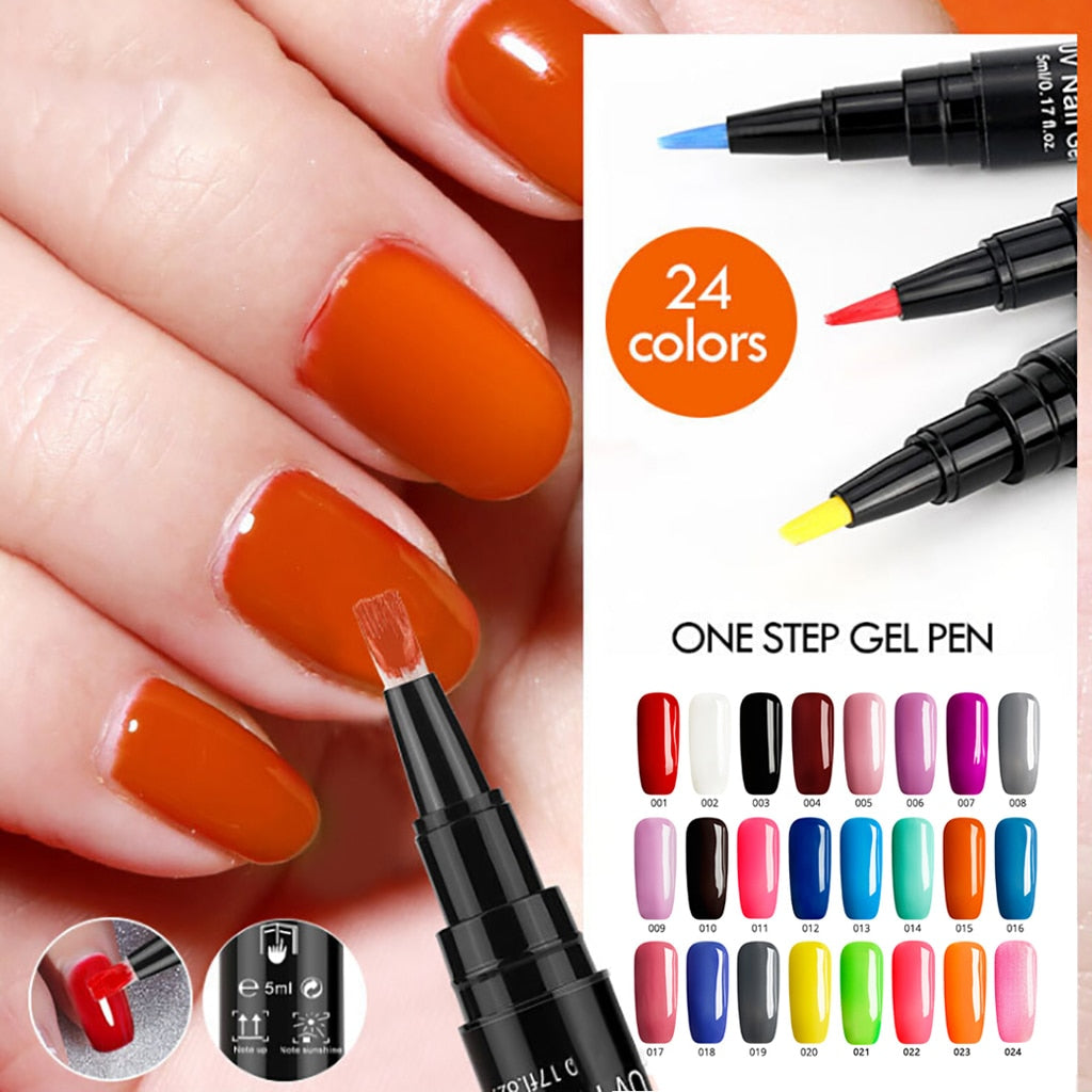 One-Step Easy Gel Nail Polish Pen -60%OFF