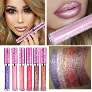 Hot Sexy Lip Gloss Metal Lipstick