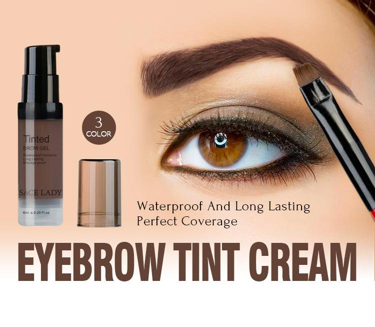 Eyebrow Tint Makeup Gel With Brushes