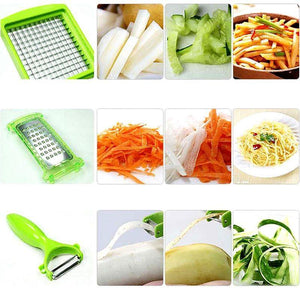 12 PCS Set Multifunctional  Vegetable Slicer - 60% OFF!