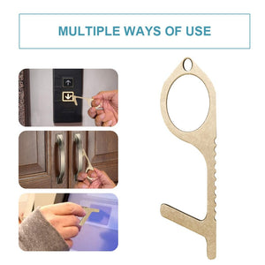 Antimicrobial Brass Clean Key