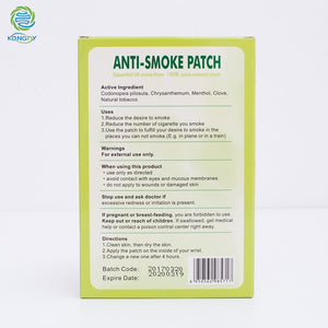 ALL Natural Quit Smoking Patches -60%OFF