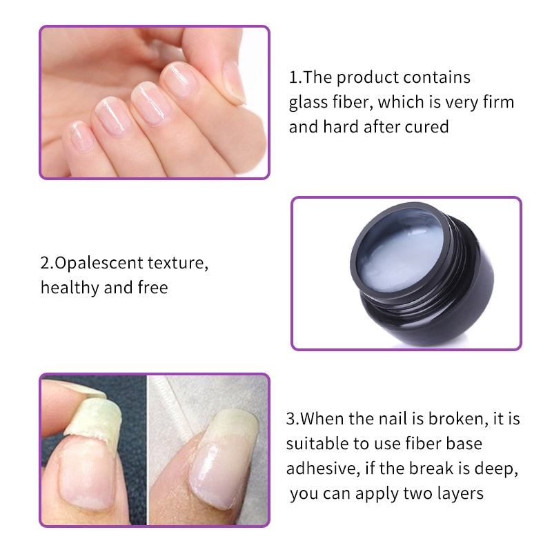 Cracked Nail Repair Gel
