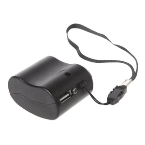 USB Hand Crank Emergency Phone Charger -60%OFF