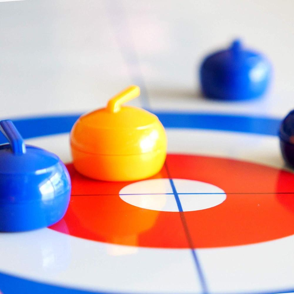 Tabletop Curling Game - Fun Game Board Games