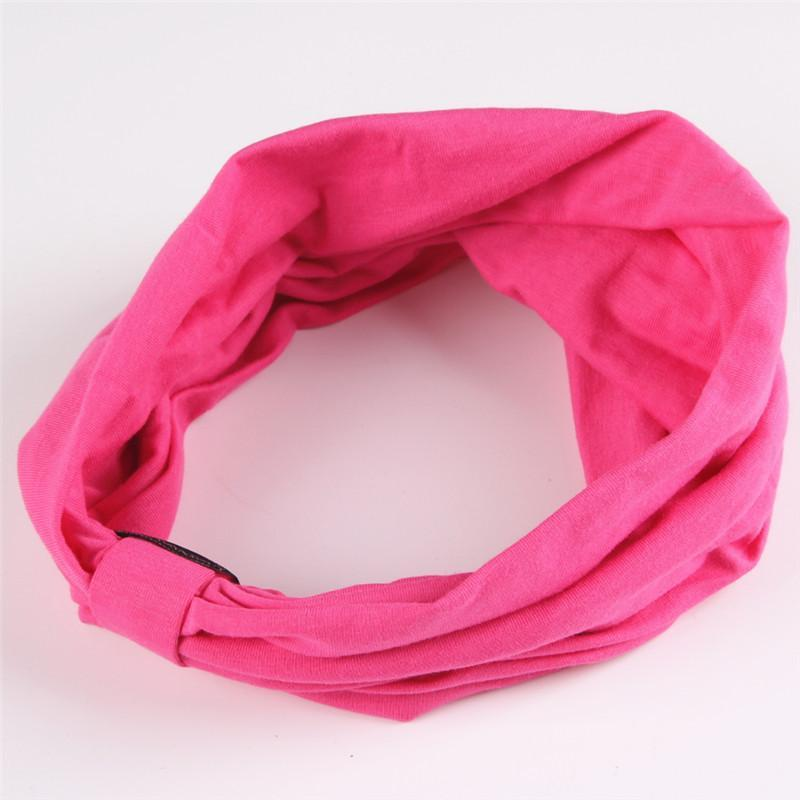 Elastic Cotton Sports Headbands