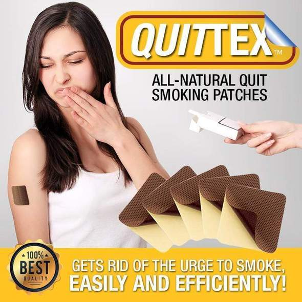 QuitTex™ Natural Quit Smoking Patches [30 Day Supply!] - HOT