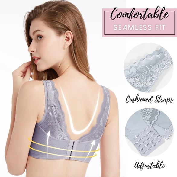All Day Comfy Full-Coverage Lace Bra