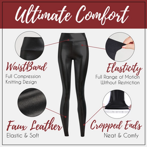 Perfect Fit Leather Leggings