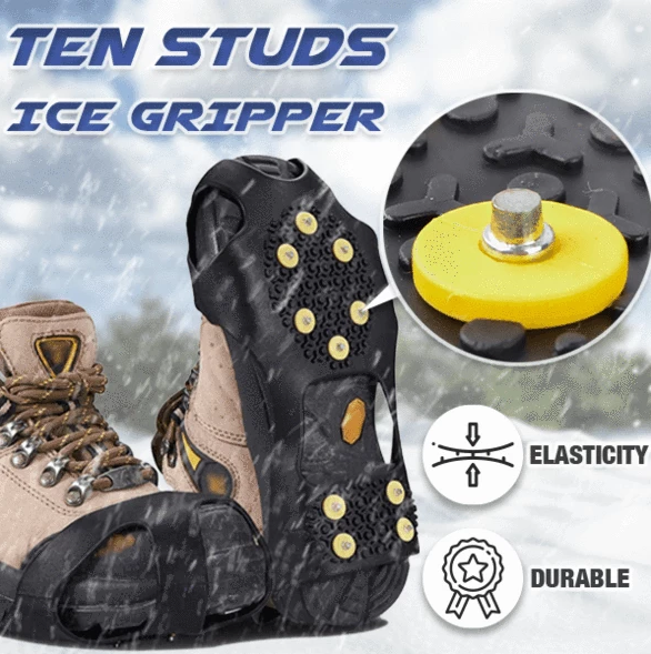 10 Studs Ice Gripper Spike Anti-Skid