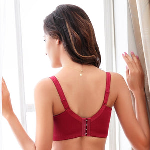 Seamless Lace Push Up Bra