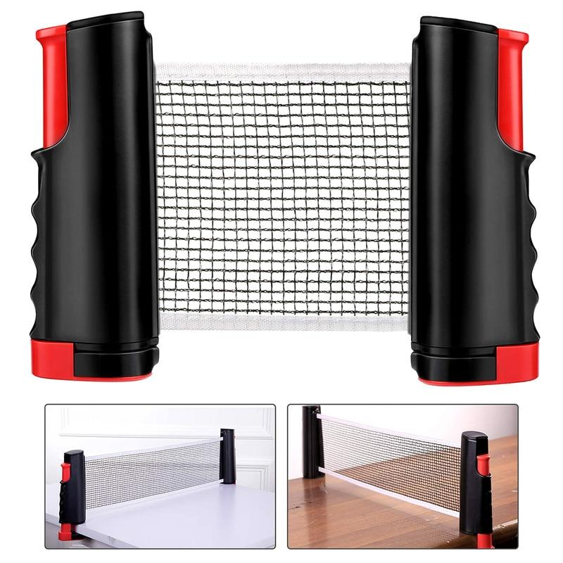 PINGPONGLY- RETRACTABLE TABLE TENNIS NET (ADJUSTABLE LENGTH)