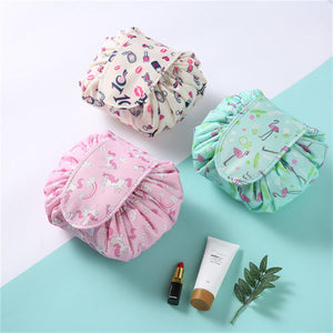 Lazy Drawstring Quick Makeup Bag