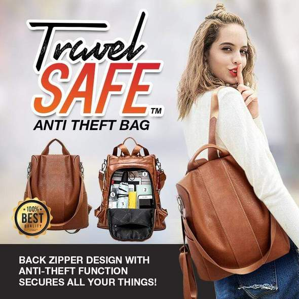 TravelSafe Anti Theft Bag
