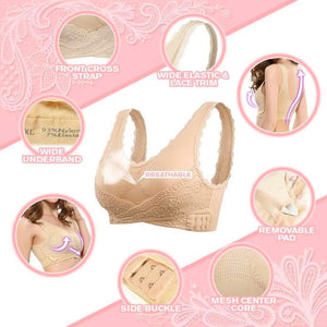 InstaComfort Wireless Lace LiftBra - Big Clearance Event!!