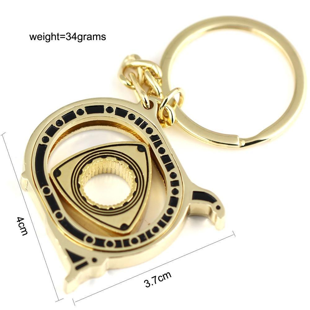 High Quality Rotary Engine Car Key Chain