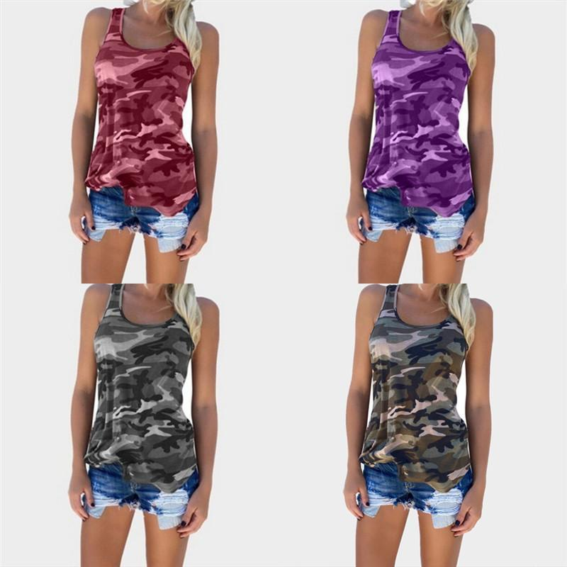 Army Camouflage Off Shoulder Tank