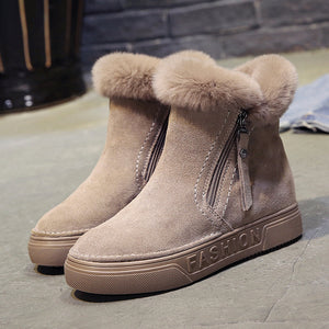Comfy Winter Ankle Boots
